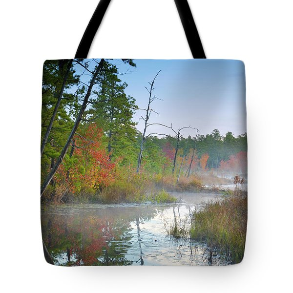 Radiant Morning Tote Bag
