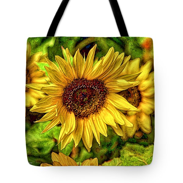 Radiate Love To The World Tote Bag by Dennis Baswell