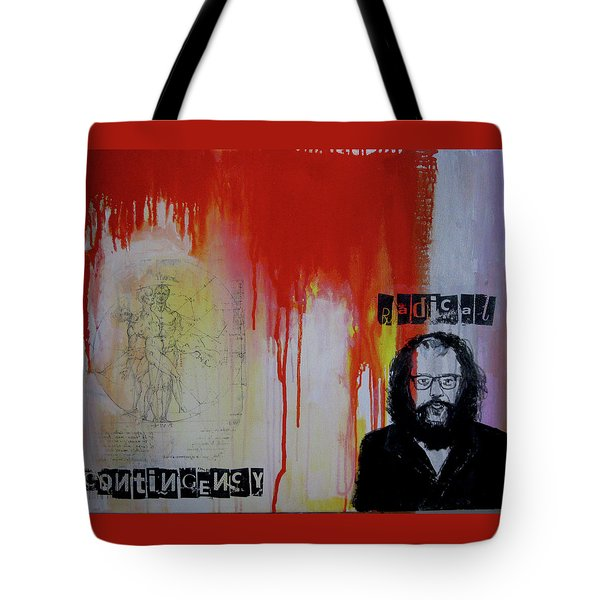 Radical Contingency Tote Bag by James Gallagher