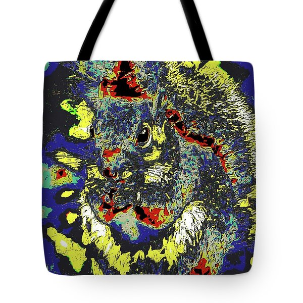 Radical Rodent Tote Bag by DigiArt Diaries by Vicky B Fuller