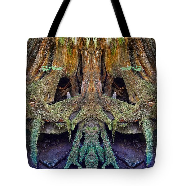 Radical Roots Tote Bag