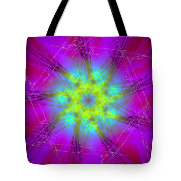 Tote Bag featuring the digital art Radicanism by Andrew Kotlinski