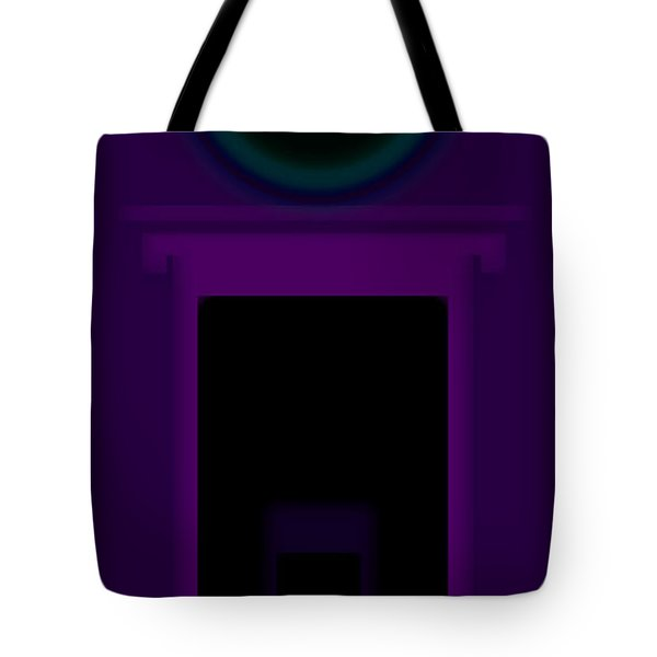 Radio Purple Palladio Tote Bag by Charles Stuart