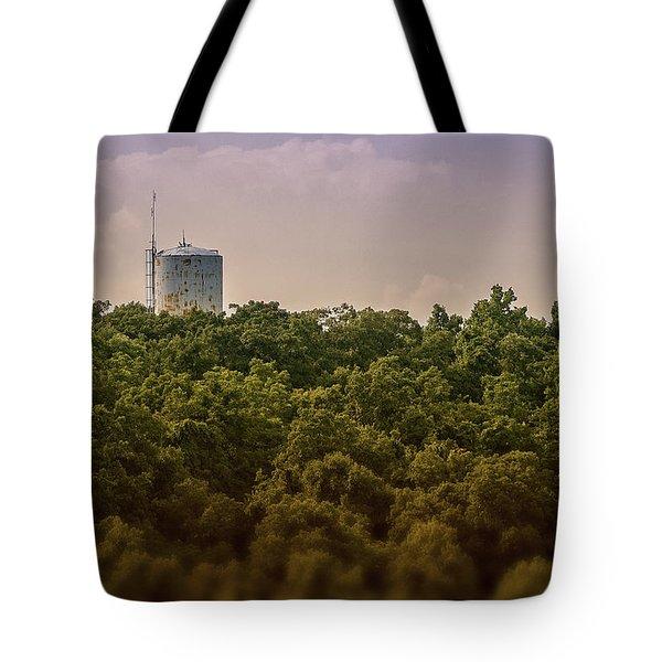 Radioactive Landscape Tote Bag
