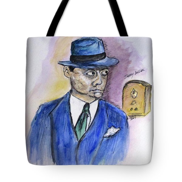 Radio's Johnny Dollar Tote Bag