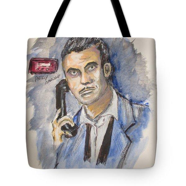 Radio's Philip Marlowe Tote Bag