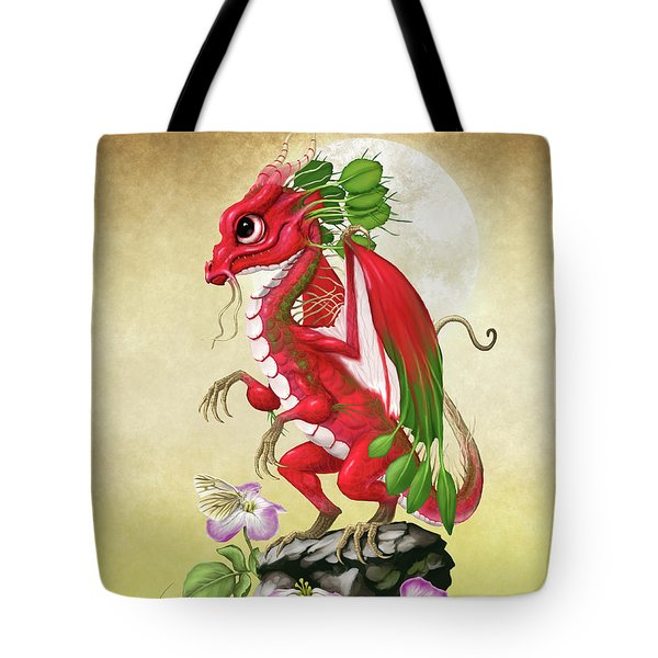 Radish Dragon Tote Bag