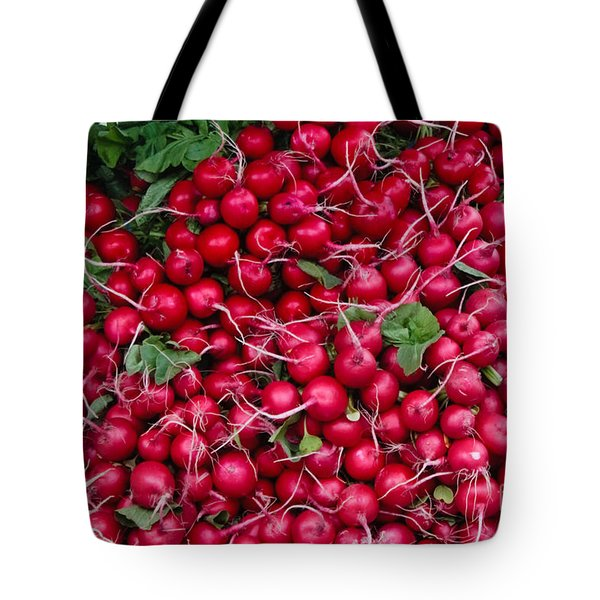 Radishes Tote Bag by Thomas Marchessault