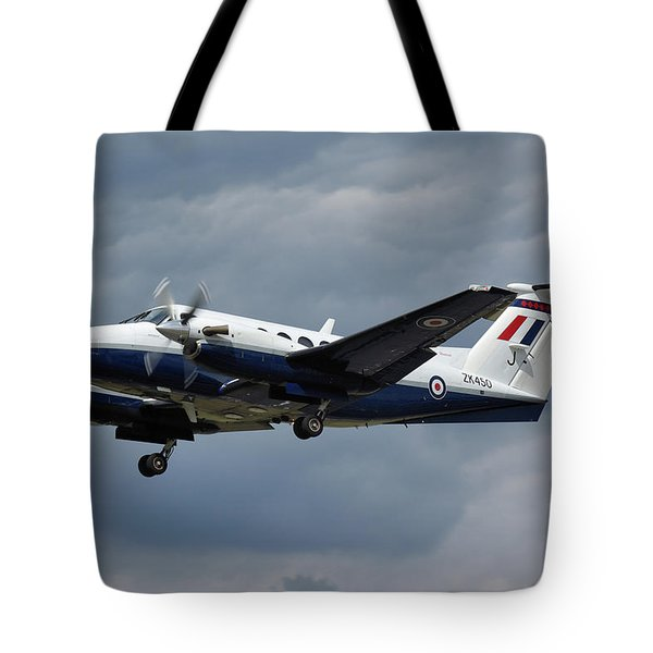 Raf Beech King Air 200  Tote Bag by Tim Beach