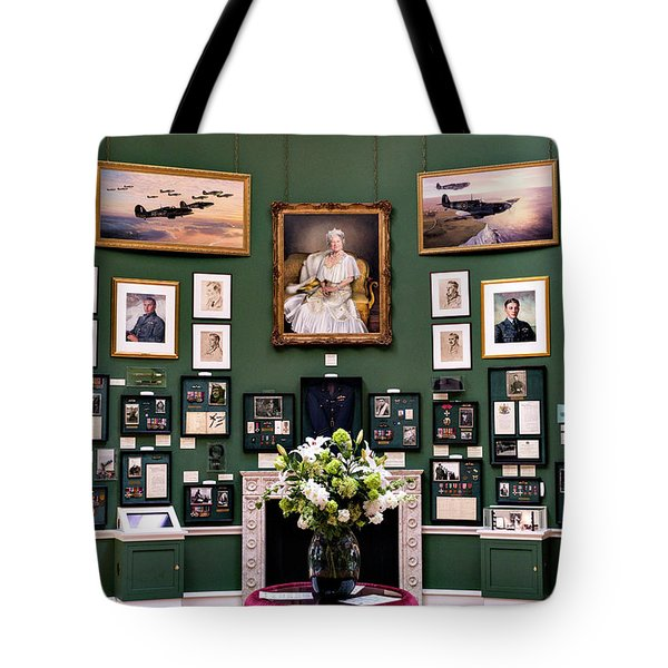 Tote Bag featuring the photograph Raf Bentley Priory by Alan Toepfer