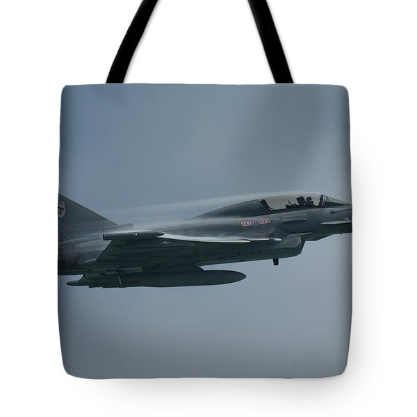 Tote Bag featuring the photograph Raf Eurofighter Typhoon T1  by Tim Beach
