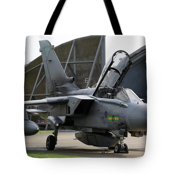 Raf Panavia Tornado Gr4 Tote Bag by Tim Beach