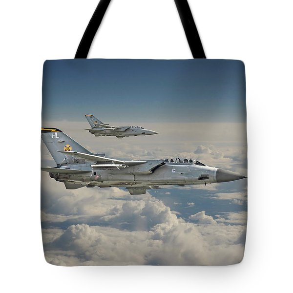 Raf Tornado Tote Bag by Pat Speirs