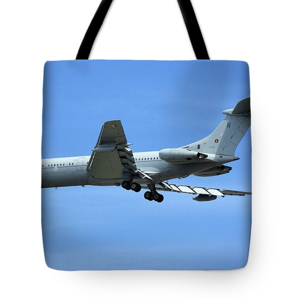 Raf Vickers Vc10 C1k Tote Bag by Tim Beach