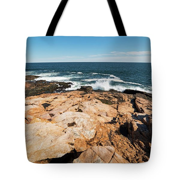 Rafe's Chasm Gloucester Ma North Shore Ocean Tote Bag