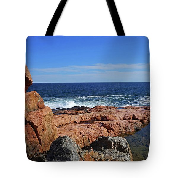 Rafe's Chasm Gloucester Ma North Shore Rocky Tote Bag