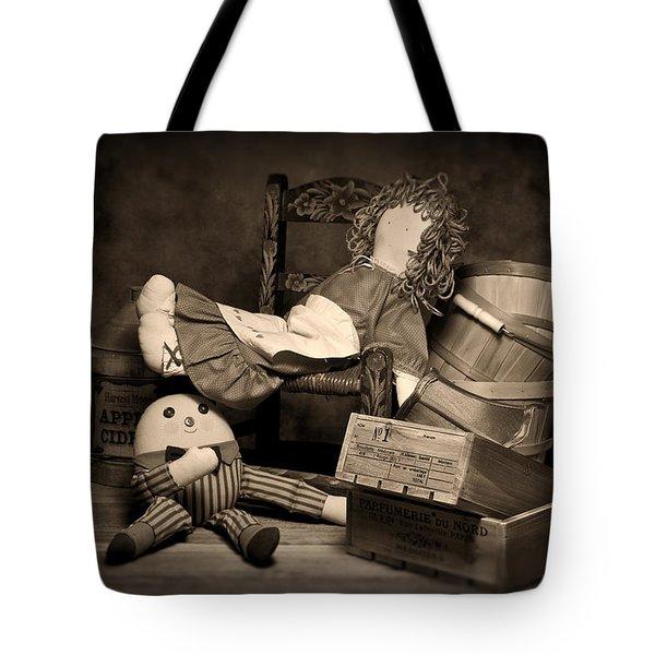 Rag Doll Tote Bag by Tom Mc Nemar