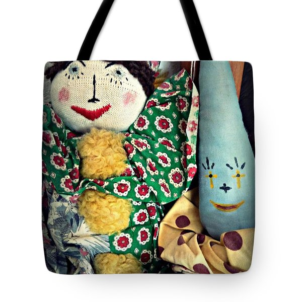 Tote Bag featuring the photograph Ragdoll Buddies by Patricia Strand