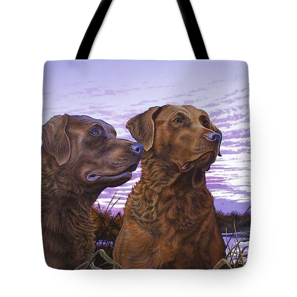 Ragen And Sady Tote Bag
