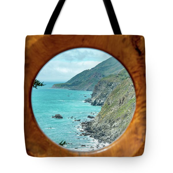 Ragged Point Tote Bag