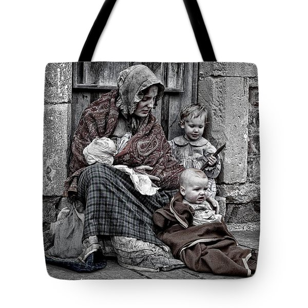 Tote Bag featuring the photograph Ragged Victorians 2 by David Birchall