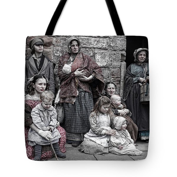 Tote Bag featuring the photograph Ragged Victorians 7 by David Birchall