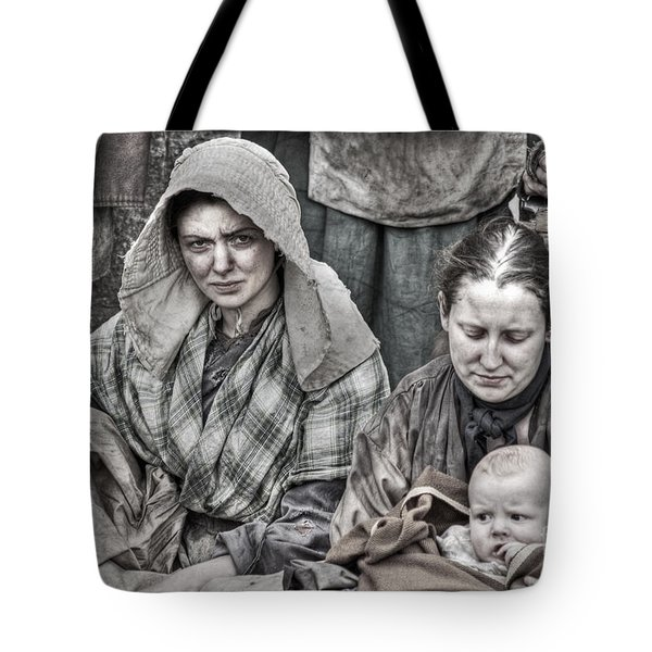 Tote Bag featuring the photograph Ragged Victorians 8 by David Birchall