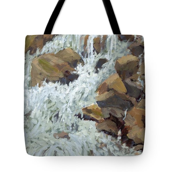 Raging Water Tote Bag