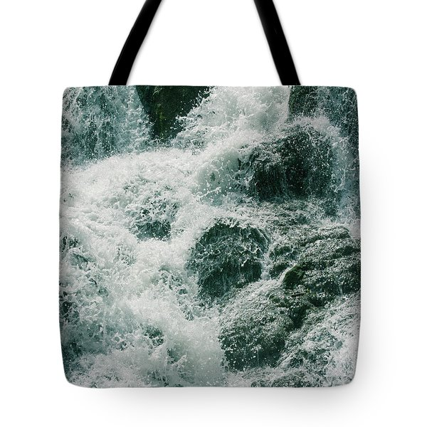 Raging Water Tote Bag