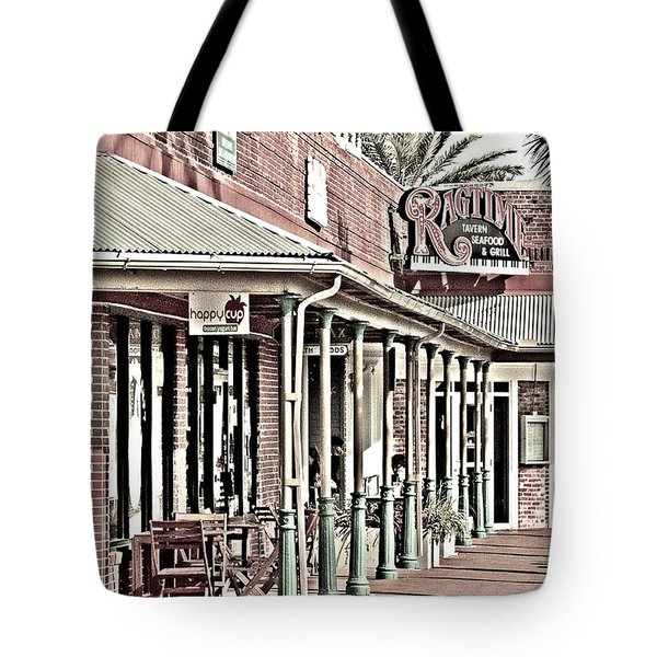 Ragtime At The Beach Tote Bag