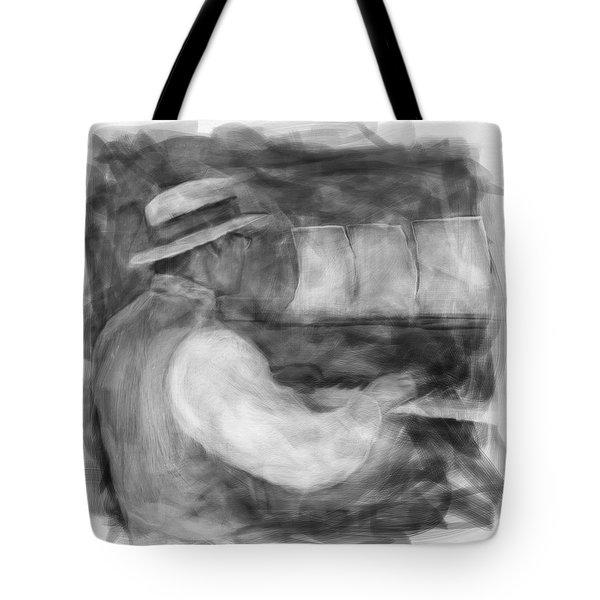 Ragtime Blues Tote Bag