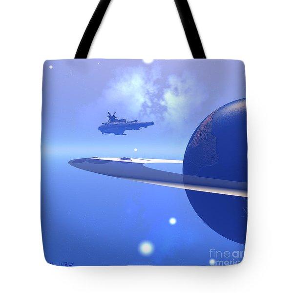 Raidor's Edge Tote Bag by Corey Ford
