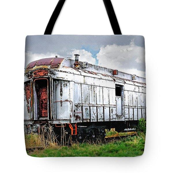 Rail Car Tote Bag