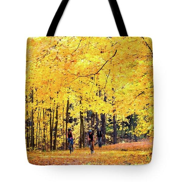 Autumn Glory On The Rail Trail Tote Bag