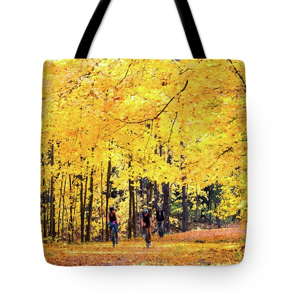 Autumn Glory On The Rail Trail Tote Bag
