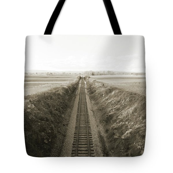 Railroad Cut, West Of Gettysburg Tote Bag