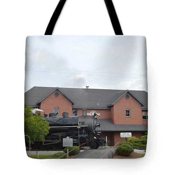 Railroad Depot Tote Bag