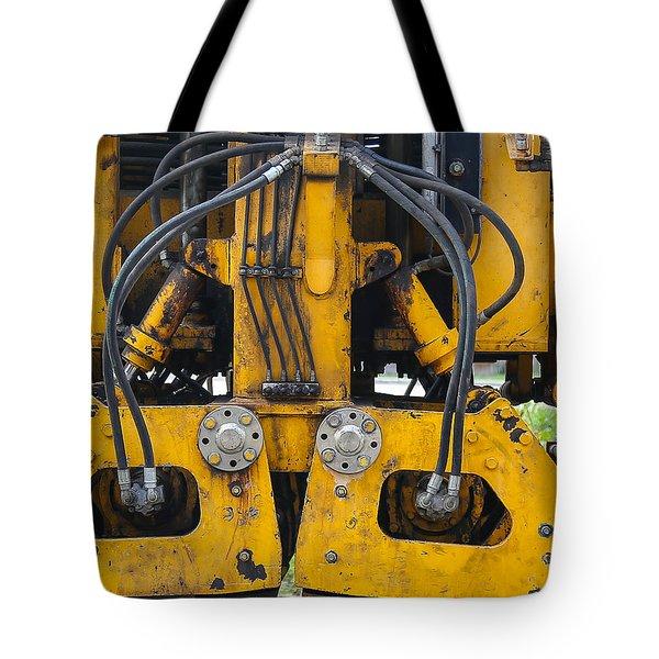 Railroad Equipment Tote Bag