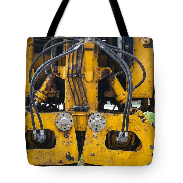 Railroad Equipment Tote Bag