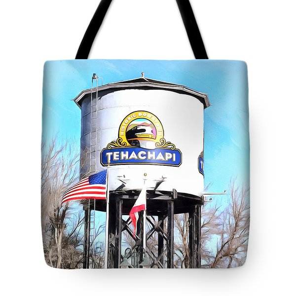 Tote Bag featuring the photograph Railroad Park Tehachapi California Detail by Floyd Snyder