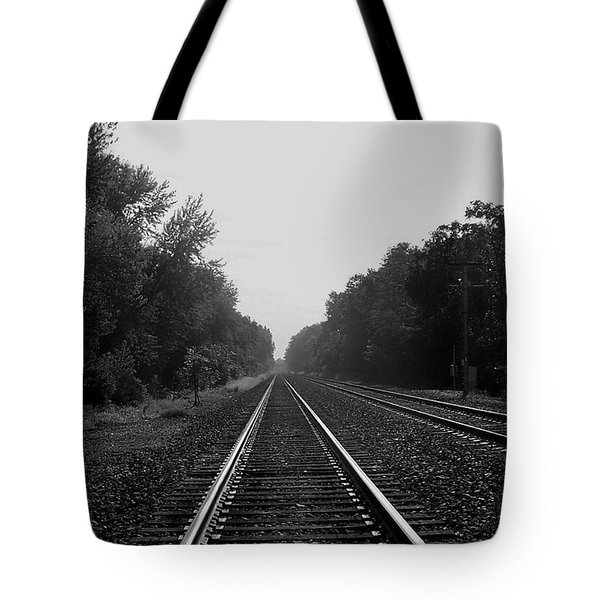 Railroad To Nowhere Tote Bag