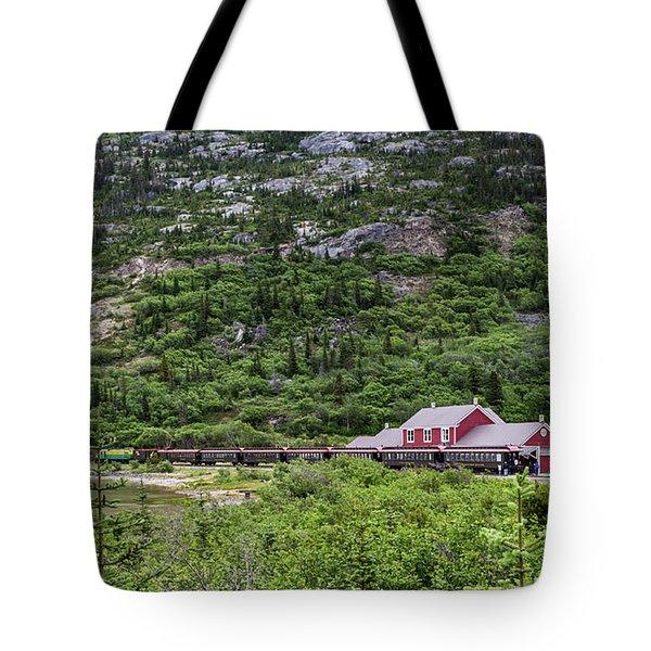 Railroad To The Yukon Tote Bag