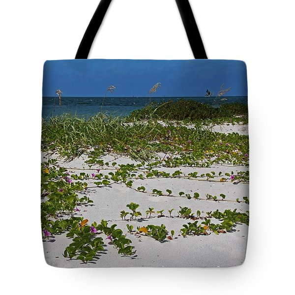 Railroad Vines On Boca IIi Tote Bag