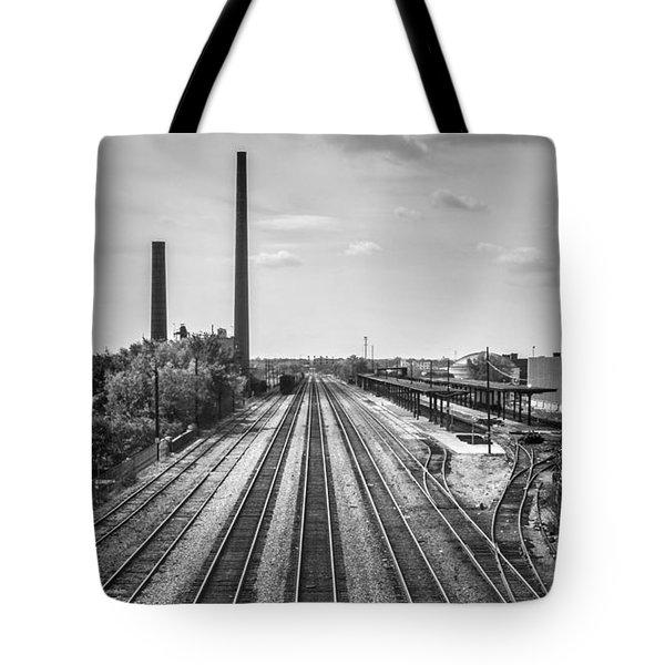 Rails Through Birmingham Tote Bag