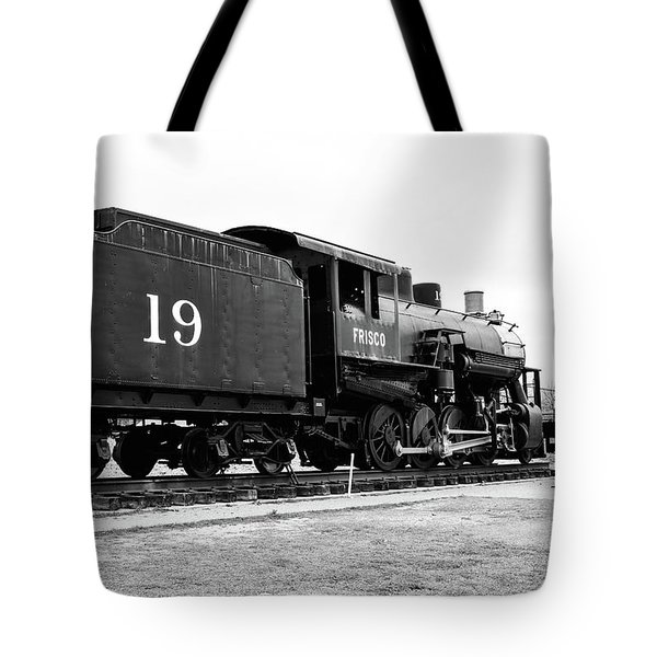Railway Engine In Frisco Tote Bag