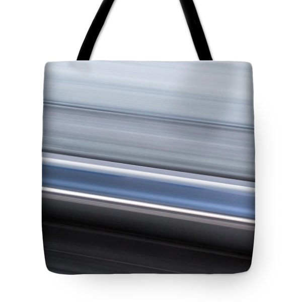 Tote Bag featuring the photograph Railway Lines by John Williams