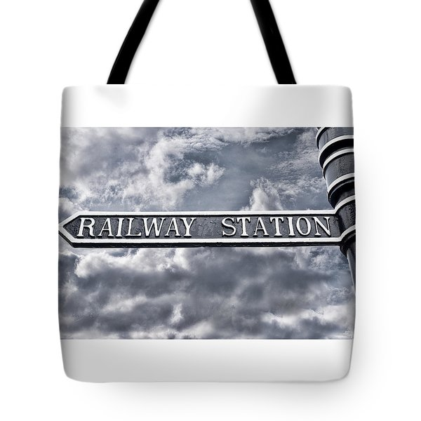 Railway Station Tote Bag