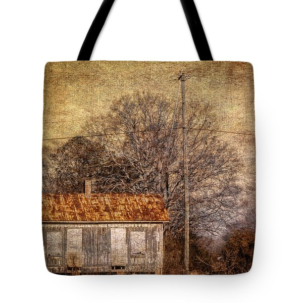 Railway Switching Station Tote Bag by Phillip Burrow