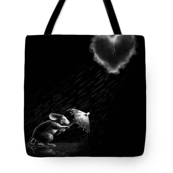 Rain And Sleet Day Tote Bag