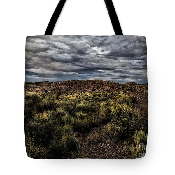 Tote Bag featuring the photograph Rain Coming  ... by Chuck Caramella